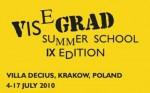 9. Visegrádi nyári egyetem